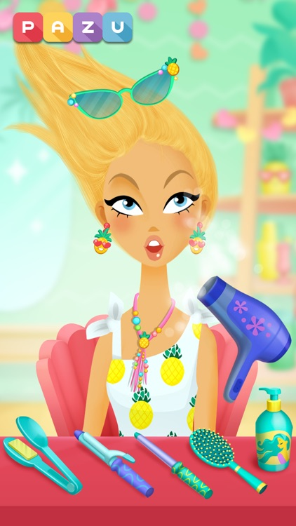 Girls Hair Salon 2 screenshot-4