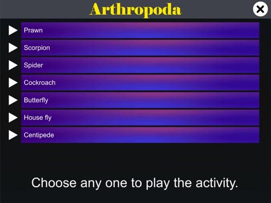 Diversity in Living:Arthropoda screenshot 10