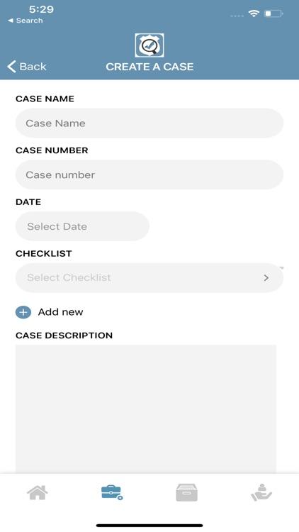 C.S.I. Checklist