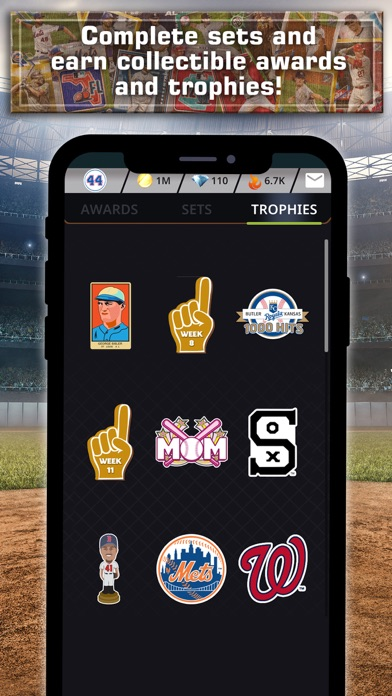 Topps® BUNT® MLB Card Trader Screenshot