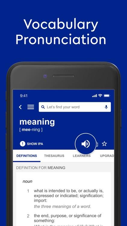 Dictionary.com Pro English screenshot-3
