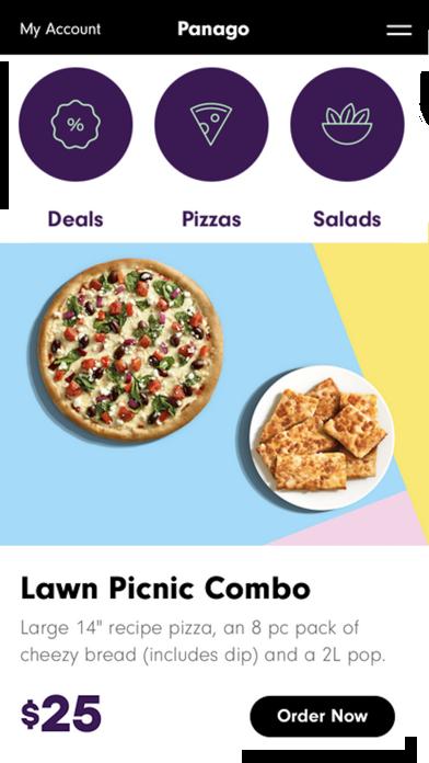 Panago PizzaScreenshot of 1
