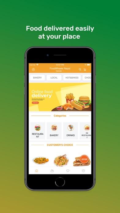 FoodWheels Nepal screenshot 1