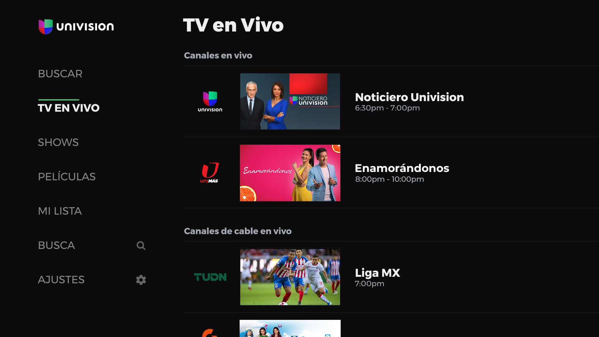 Univision App screenshot 12