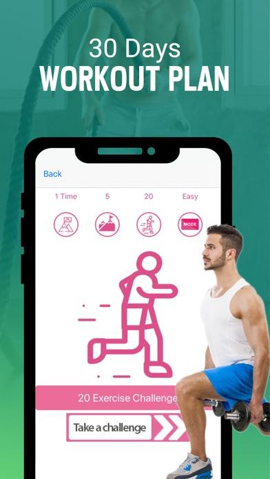 Abnehmen für Männer WorkoutsScreenshot von 1