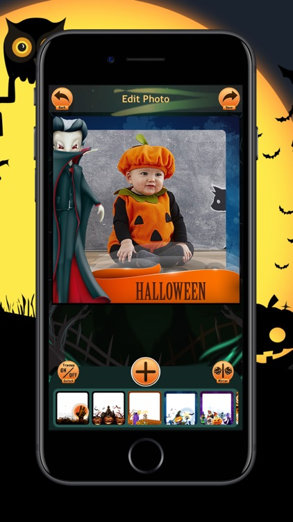 Halloween Photo Frames Trick screenshot-6