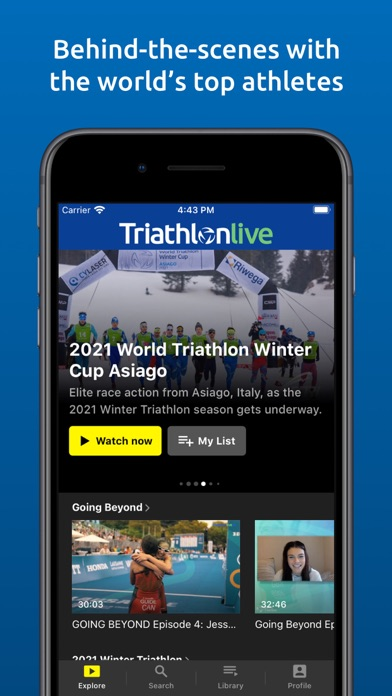 TriathlonLive - Triathlon TVのおすすめ画像2