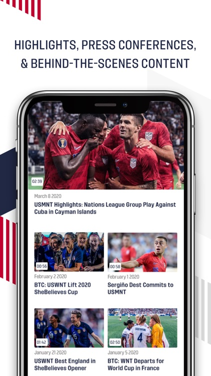U.S. Soccer – Official App screenshot-3