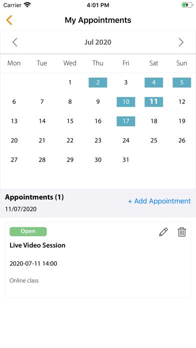 YDL Personal Training App screenshot 1