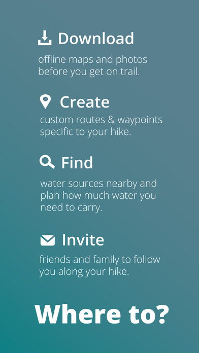 Guthook Guides: Hike Offline Screenshot