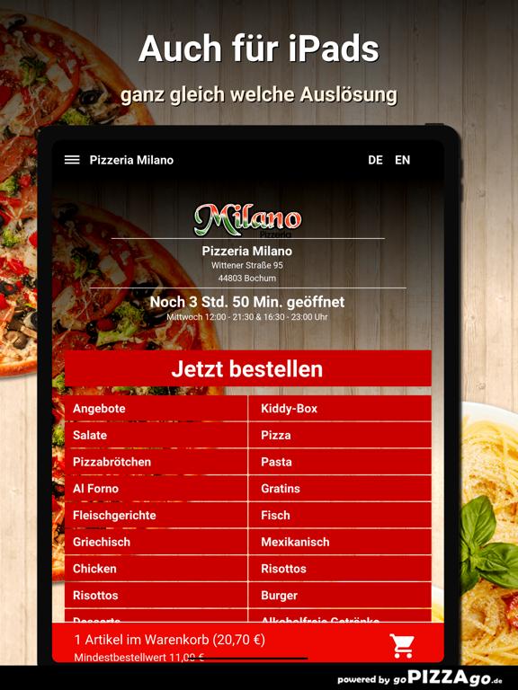 Pizzeria Milano Bochum screenshot 7