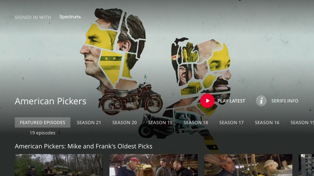 HISTORY: TV Shows on Demand on the App Store