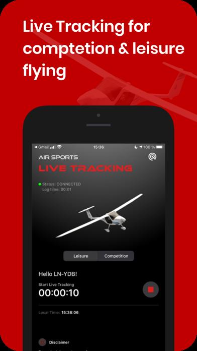 Air Sports Live Tracking Screenshot
