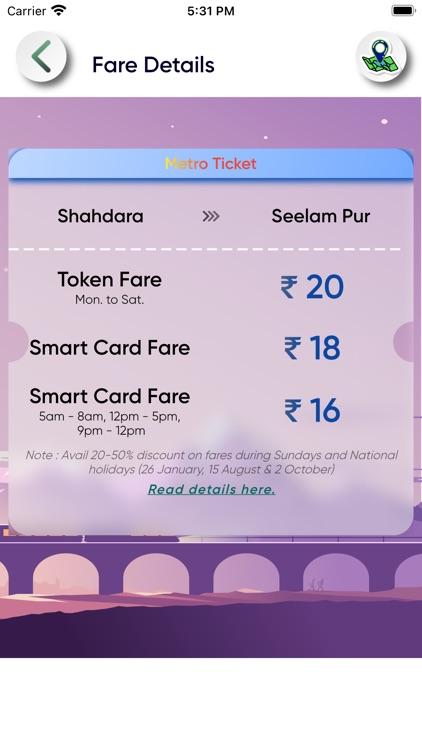 Delhi Metro Map Route and Bus screenshot-3