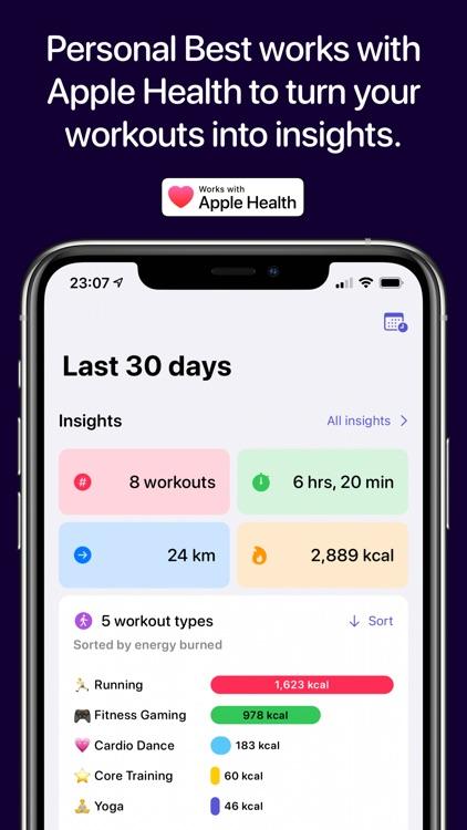 Personal Best Workouts screenshot-0