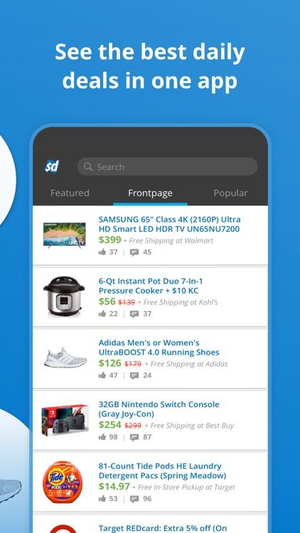 Slickdeals: Deals & Discounts