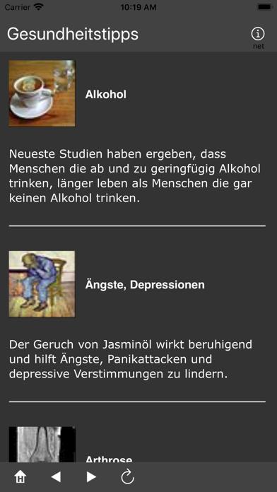 Gesundheitstipps screenshot 4