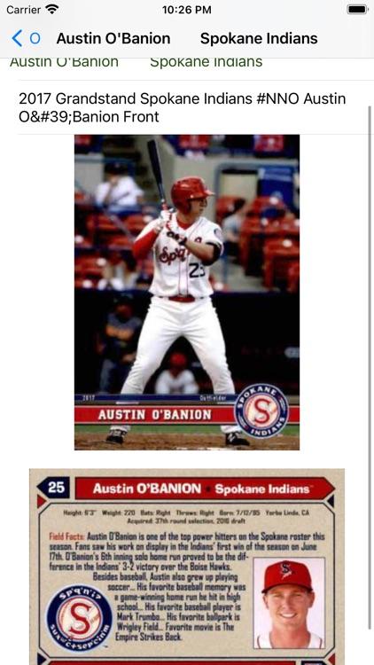 Baseball trading cards PRO screenshot-3