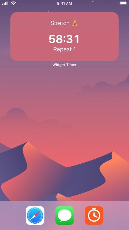 Widget Timer