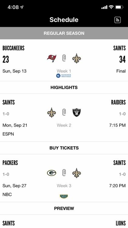 New Orleans Saints screenshot-5