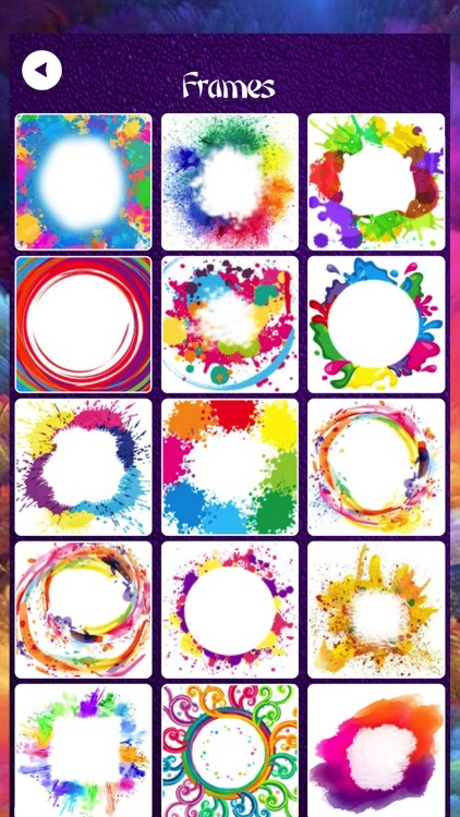 Holi Photo Frames - Sticker screenshot-4