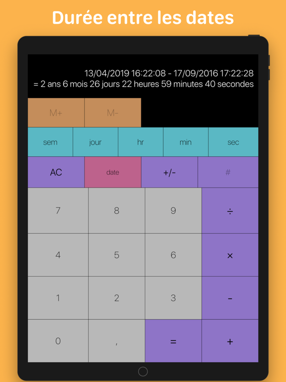 Screenshot #4 pour Tabi Calc
