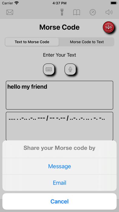 allMorseCode Screenshot
