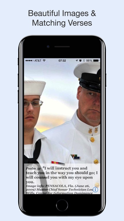 Navy Psalm Daily Quotes ESV screenshot-3