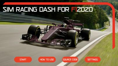 Sim Racing Dash for F1 2020 screenshot 1