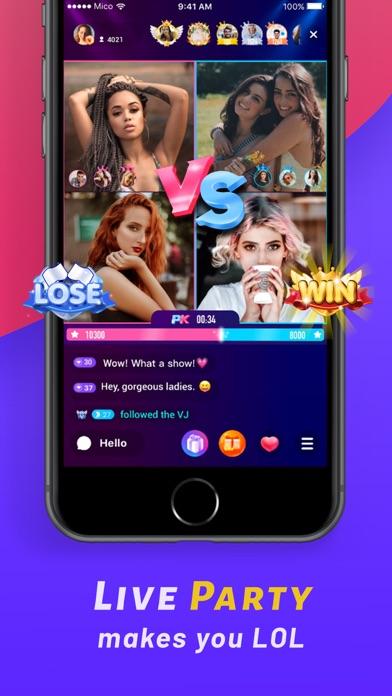 MICO: Make Friends, Live Chat Screenshot