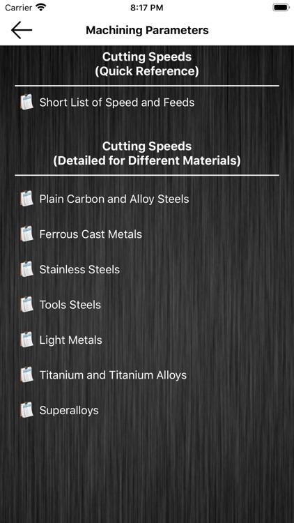 Machining App for Machinists screenshot-7