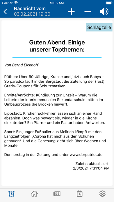cancel Der Patriot Lippstadt subscription image 2