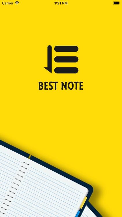 Best Note