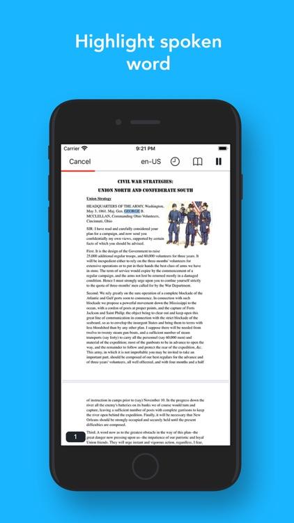 PDF Voice Aloud Reader
