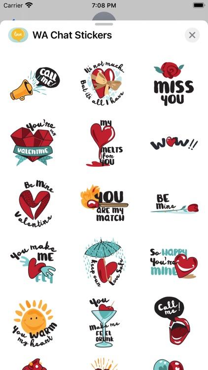 WA Chat Stickers screenshot-3
