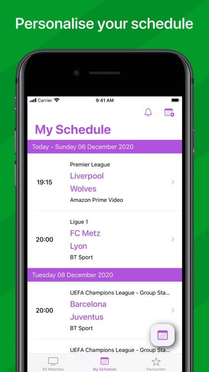 Live Football On TV screenshot-3