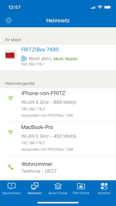MyFRITZ!AppScreenshot von 2