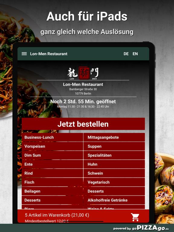 Lon-Men Restaurant Berlin screenshot 8