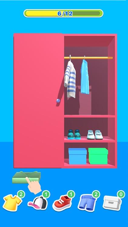 Tidy Clothes 3D screenshot-3