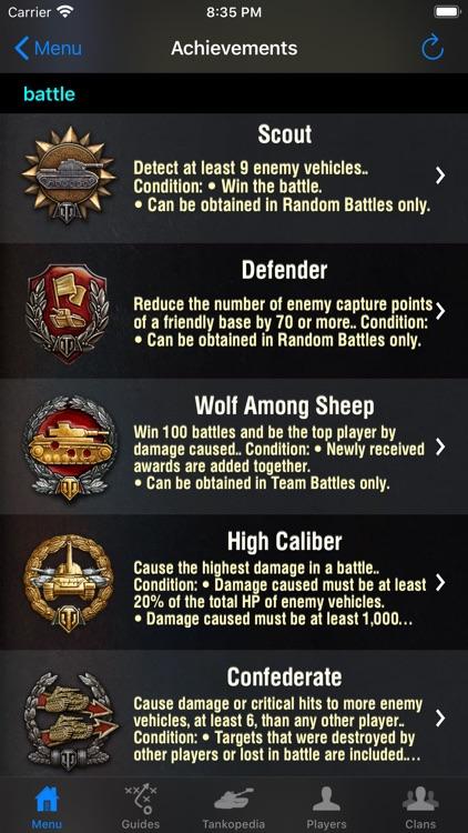 Guide for World of Tanks screenshot-7