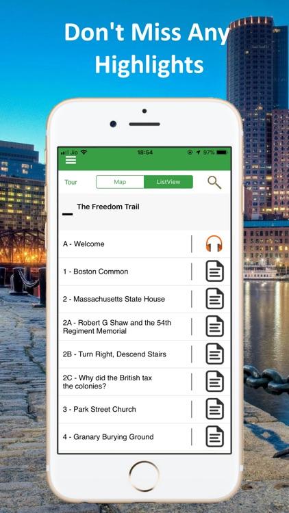 Boston Audio GPS Tour Guide screenshot-3