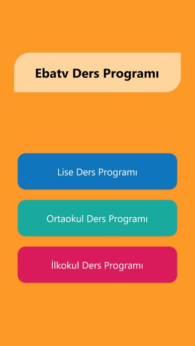 Eba Tv Ders Programı – Canlı 1