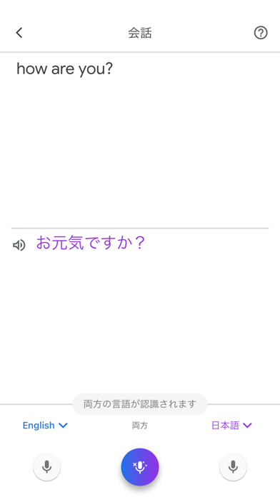 Google 翻訳 ScreenShot2