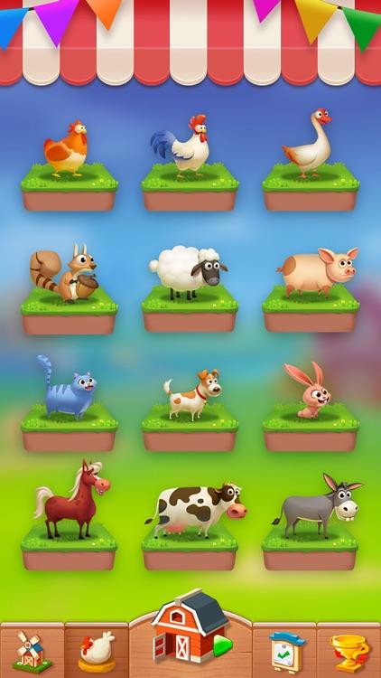Solitaire - My Farm Friends screenshot-3