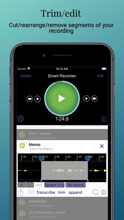 Smart Recorder and transcriber screenshot-3