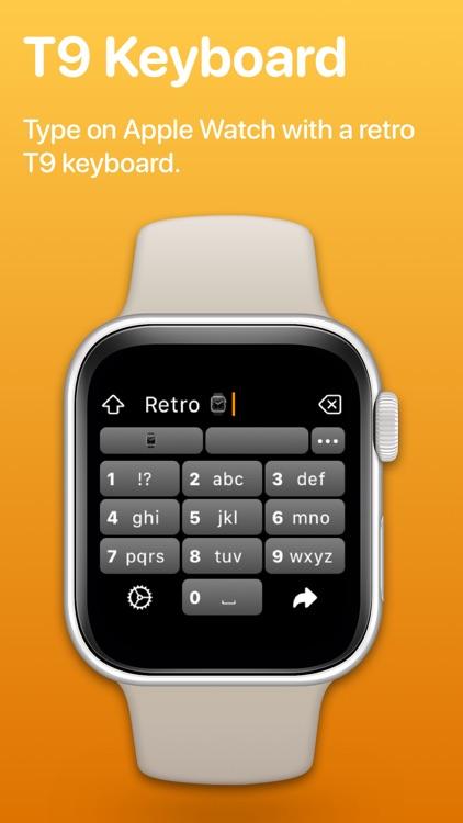 Retro Keyboard: Watch Keyboard