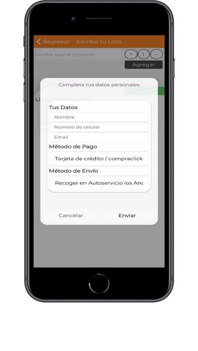 Screenshot of Acosa App