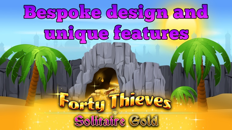 Forty Thieves Solitaire Gold screenshot-3