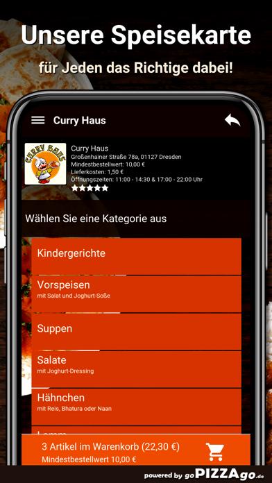 Curry Haus Dresden Pizza screenshot 4