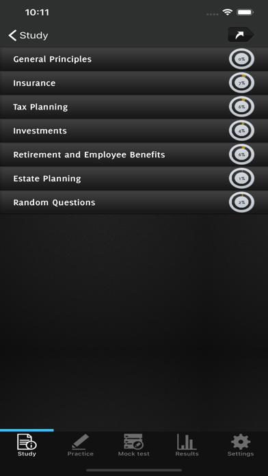CFP - Practice Exam Q&A screenshot 2
